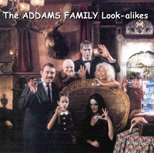 AddamsFamilyLook alikes - Addams Family
