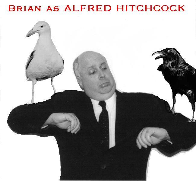 BrianasHITCHCOCKwithbirds - Alfred Hitchcock