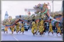 Dragon Dance - Chinese Dragon & Lion Dancers