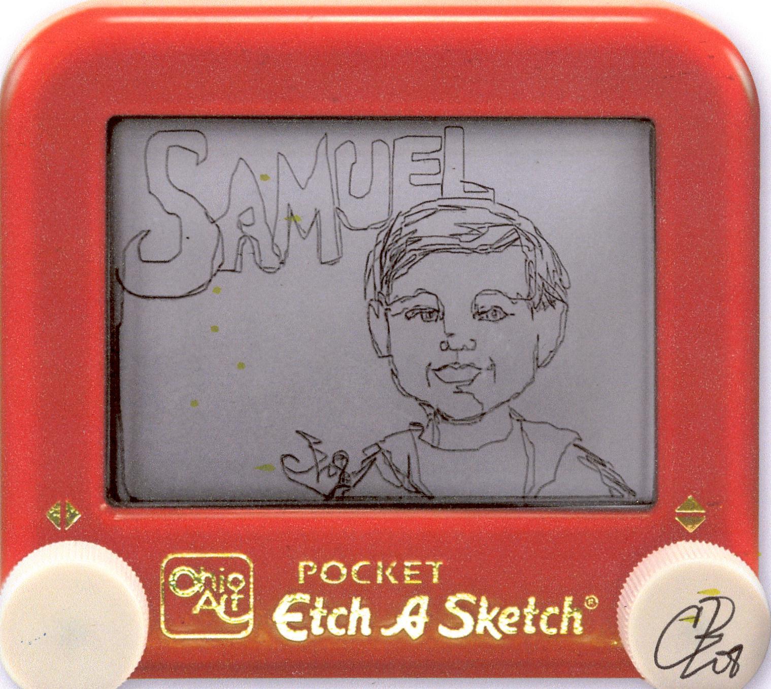 Etch Samuel - Etch-A-Sketch Artist