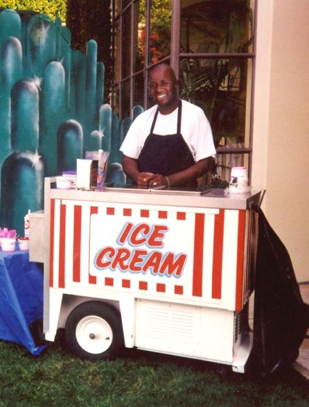Ice Cream Cart smile - Food Carts