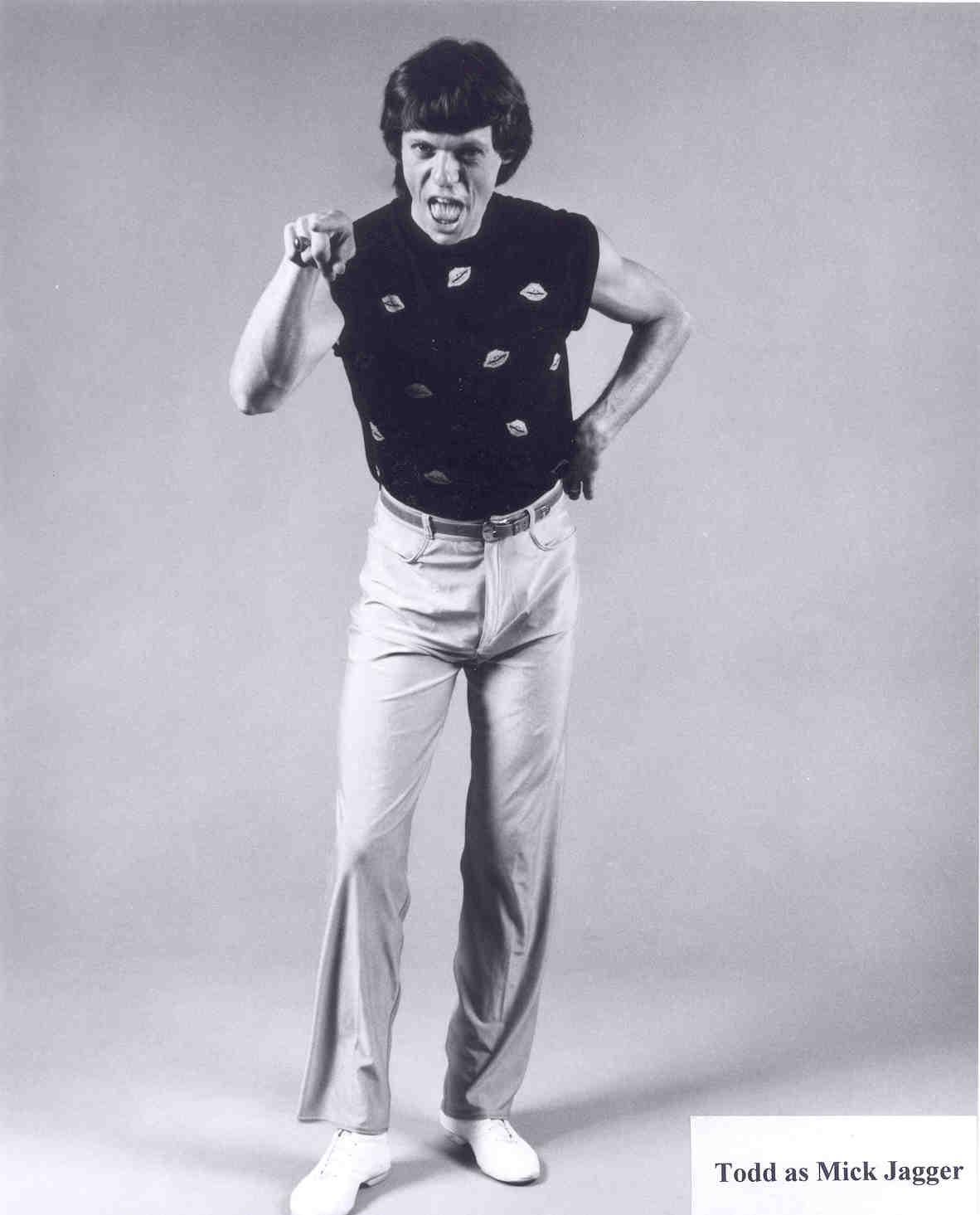 JaggerMick Toddfullbody - Mick Jagger