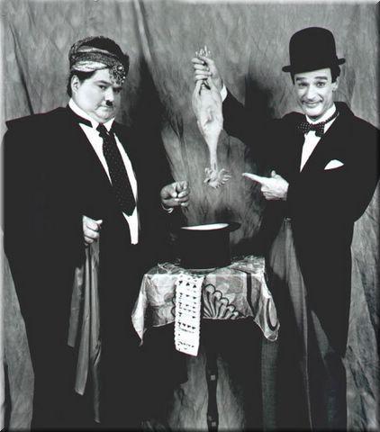 Laurel hardy bw 01 - Laurel & Hardy
