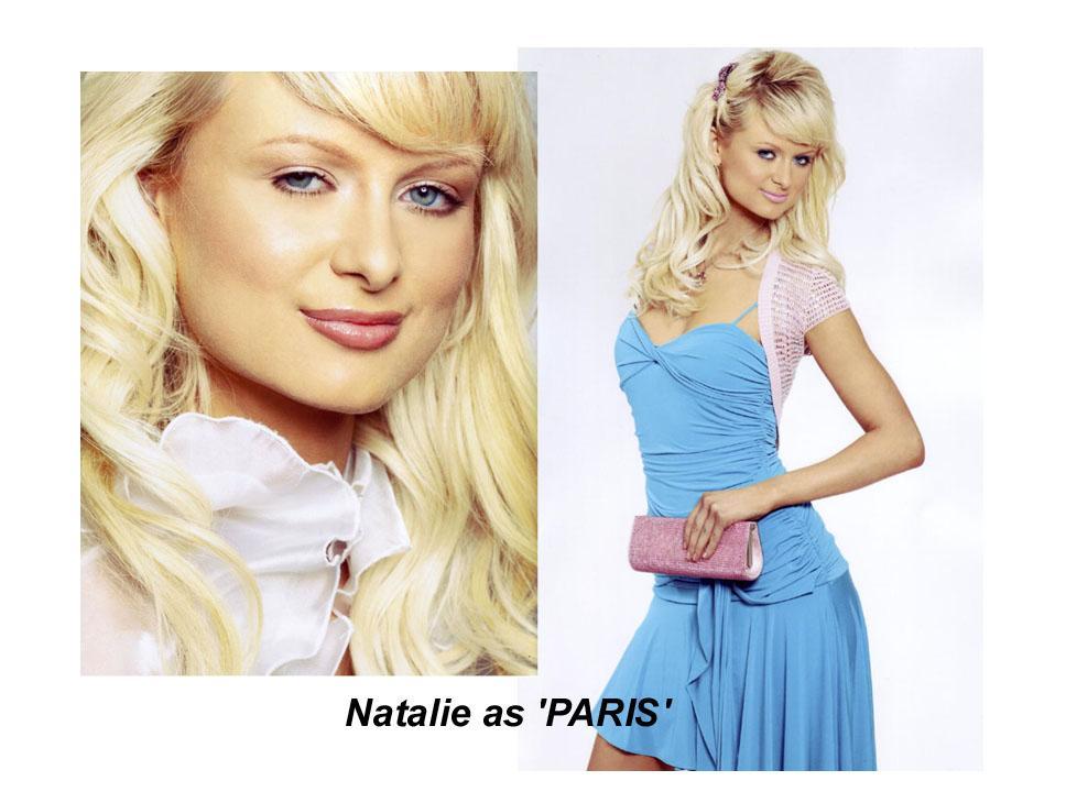PARIS Natalie - Paris Hilton