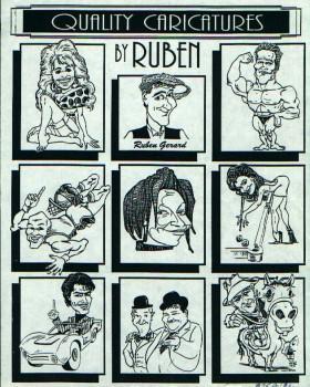 REUBEN 280x350 - Caricature Artists