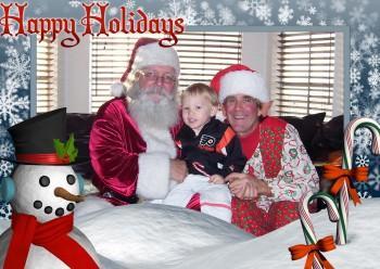 Santa Elf1 350x248 - Santa & Mrs. Claus