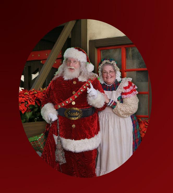 Santa Joe Leavitt Mrs. Claus - Santa & Mrs. Claus