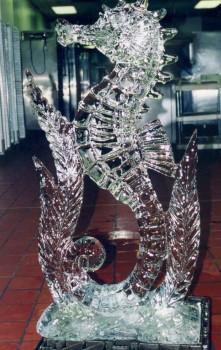 Seahorse 221x350 - Ice Sculptures