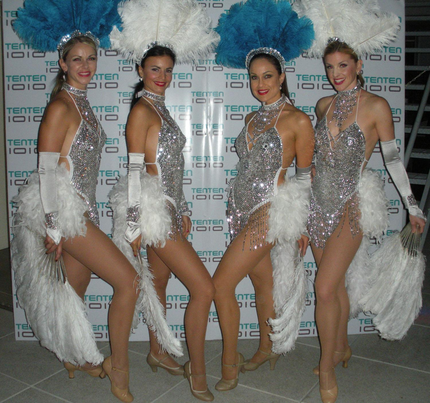 Silver - Vegas Showgirls