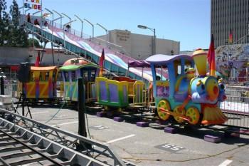 Train 350x233 - Carnival Rides