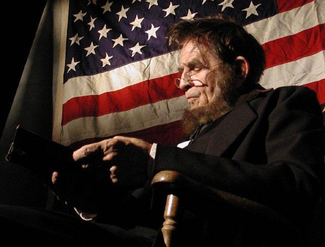 abe book flag - Abraham Lincoln