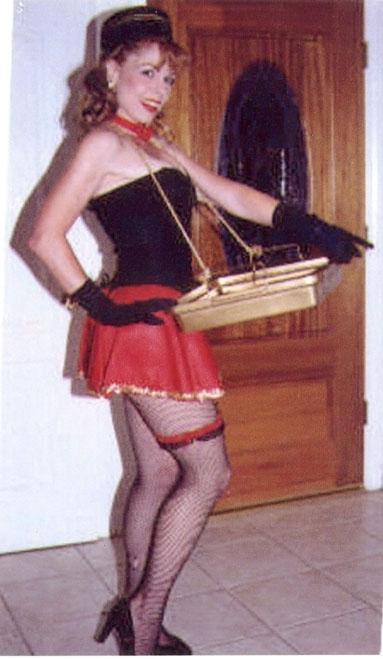 ciggirl - Cigarette Girl or Costumed Concession Girl