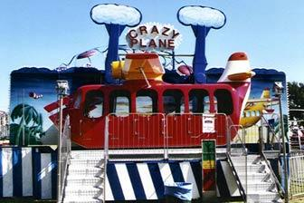 crazy plane - Carnival Rides