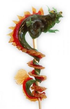 dragon1 226x350 - Candy Sculptures