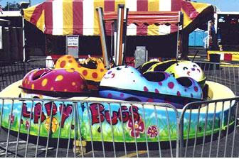 lady bugs - Carnival Rides