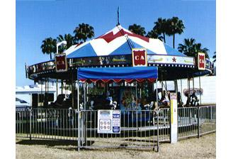 merry go round b - Carnival Rides
