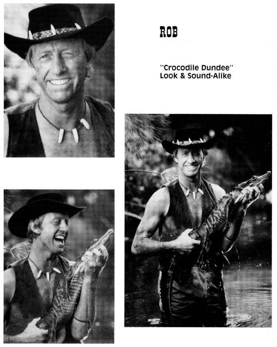 rob Croc - Paul Hogan (Crocodile Dundee)