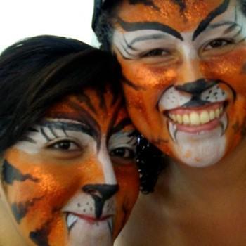 tiger 350x350 - Facepainting