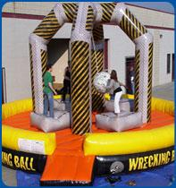 wreckingball - Inflatable Games & Attractions